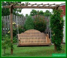 Wooden Porch Swing Set Plans