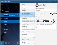 Learn how to Add Email signature in windows 10 mail app or Update/ Change existing saved signature from your mail app on laptop or desktop.