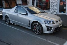 Holden USV Ute Maloo, not an old one this one obviously but it's a maloo. Big Girl Toys, Toys For Boys, Weird Cars, Cool Cars, Holden Maloo, Pontiac G8, Pickup Car, Aussie Muscle Cars, Holden Commodore