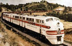 Chicago, Burlington & Quincy #114-A F.T. Neb. in '50s