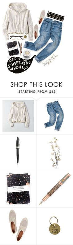 """Spring Trend; Cropped Hoodie"" by nina-merz ❤ liked on Polyvore featuring American Eagle Outfitters, Pineider, Pier 1 Imports, Nikki Strange, Fountain, Rebecca Minkoff, Jayson Home and Spicher and Company"