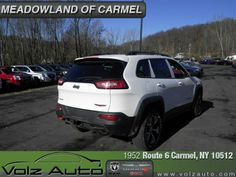 2014 Jeep Cherokee, Bright White Clear Coat Morocco Black Interior