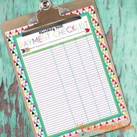 i should be mopping the floor: Free Printable Daily and Weekly Cleaning Lists