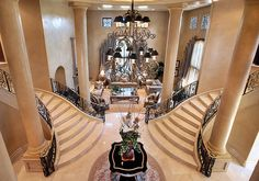 dramatic entrance ~ gorgeous #interior #home decor