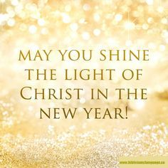 as we start the new year we all make resolutions to improve our lives and the lives of those around us with god as our light and guide we can make an