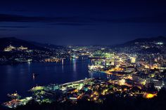 The Night View of Nagasaki City