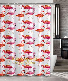 "New Design Kate Spade Pink Flamingo Pattern Custom Shower Curtain 66"" x 72"" #Unbranded #Modern #Best #Design #Cheap #Gift #Beautiful #Showercurtain #Beautifulshowercurtain #katespade #flamingo"
