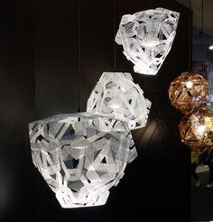Maison & Objet door de ogen van designer Marc Th. van der Voorn. Hier de Zatellite lampen van Anon Pairot
