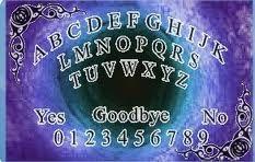ouija boards use the ouija