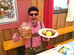 Best Bavarian pork roast recipe straight from the Oktoberfest, TOP recipe! Pork Roast Recipes, Top Recipes, Dishes, Meat, Breakfast, Youtube, Oktoberfest, Breakfast Cafe, Plate