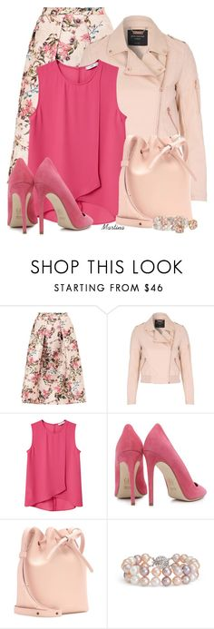 """""""Bez naslova #2935"""" by martina-cciv ❤ liked on Polyvore featuring Ted Baker, Jane Norman, MANGO, Dee Keller, Mansur Gavriel, Blue Nile and Tory Burch"""