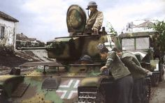 Recent Updates - German soldiers watch Hungarian Toldi tank. Ww2 History, European History, Military History, Tiger Tank, Tank Destroyer, Ww2 Photos, Special Ops, Ww2 Tanks, Battle Tank