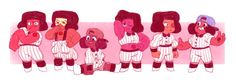 The Ruby team's baseball outfits