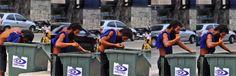 Homem é flagrado comendo lixo na Avenida Boa Viagem  A equipe do Diario fez um flagrante de degradação humana na Avenida Boa Viagem. O repórter fotográfico Arthur de Souza registrou um homem comendo lixo de um depósito da Emlurb no bairro da Zona Sul nesta quarta-feira.