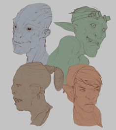 Heads 11-27-17 by JohnoftheNorth