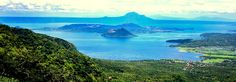 Tagaytay - is one of the country's most popular tourist destinations because of its outstanding scenery and cooler climate provided by its high altitude.