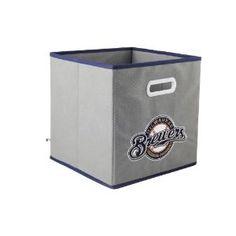 Milwaukee Brewers MLB Fabric Storage Drawer