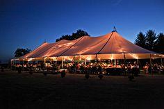 White sail tent | Rustic Italian on the Farm, Viva Bella Events
