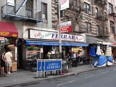 New York Little Italy: Ferrara Bakery