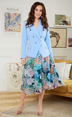 Summer Work, Suits For Women, Ladies Suits, Midi Skirt, Costumes, My Style, Lady, Casual, Skirts