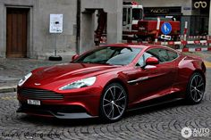 Visit The MACHINE Shop Café... ❤ The Best of Aston Martin... ❤ (2014 Aston Martin Vanquish)