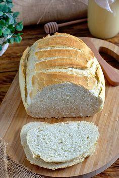 Chleb z garnka – Smaki na talerzu Bread Rolls, Crepes, Food And Drink, Favorite Recipes, Plates, Meals, Cookies, Desserts, Pizza