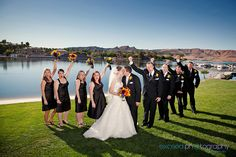 Whitney and Jared - Wedding at The Lake Club, South Shore Las Vegas, Las Vegas Event and Wedding Photographer