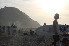 Surfing San Sebastian - Playa de la Zurriola