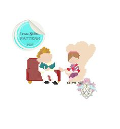 Carl & Ellie Fredricksen Up. Minimalist by plasticlittlecovers Up Carl And Ellie, Up Pixar, Up The Movie, New Hobbies, Disney Love, Cross Stitching, Beading Patterns, Pixel Art