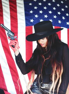 Azealia Banks Bad Bitch America Guns Yee Haw YSHT www.YSHTMusic.com
