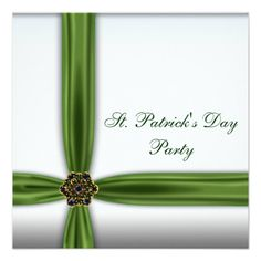st partrick wedding invitations | Emerald Green Wedding Accessories | A – Z Weddings