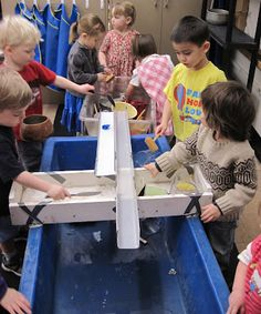 Sand and Water Table Blog