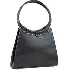 VANI HANDBAGS Black Designer Inspired Classic Shoulder Bag Purse : Fashion Purses