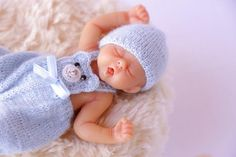 Clothes for Camille Allen baby doll Mini doll clothes Baby Boy