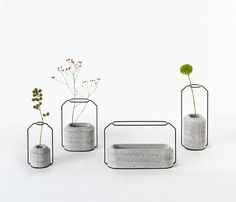 vasos de peso por thinkk estúdio