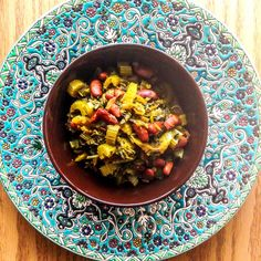 This Persian celery stew is a must-try! Here is the vegetarian version which is super delicious! Tastes wonderful with Persian style Rice!