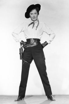 Barbara Stanwyck as Jessica Drummond in Forty Guns, 1957