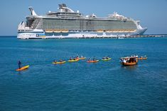 Kayaking in Labadee. Royal Caribbean