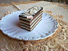Čokoládové rezy (fotorecept) Phyllo Dough, Pastry Cake, Vanilla Cake, Nutella, Tiramisu, Rum, Dessert Recipes, Cooking Recipes, Sugar