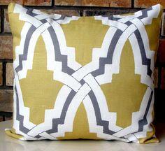 NEW Designer Pillow Cover 18 X 18  Bokara by ModernTouchDesigns, $32.00