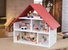 Poppenhuis voor kinderen | DIY projecthandleidingen om zelf te maken