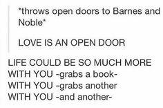 LOVE IS AN OPEN DOOOOOooooooRrrrrr