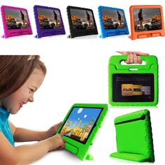 New Kids ShockProof Dropproof Safe Foam Case Handle Cover Stand for Amazon Kindle #Bolete