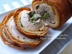 Pork belly Lechon roll