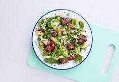 Sund aftensmad på max 30 minutter   Iform.dk Asparagus, Sprouts, Vegetables, Food, Studs, Vegetable Recipes, Eten, Veggie Food, Brussels Sprouts