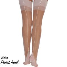 Touchable - UK shop for fully fashioned stockings, RHT, suspender belts, lingerie, delivery world-wide Ballet Shoes, Dance Shoes, Fully Fashioned Stockings, Pointed Heels, Uk Shop, Nylons, Shopping, Style, Ballet Flat