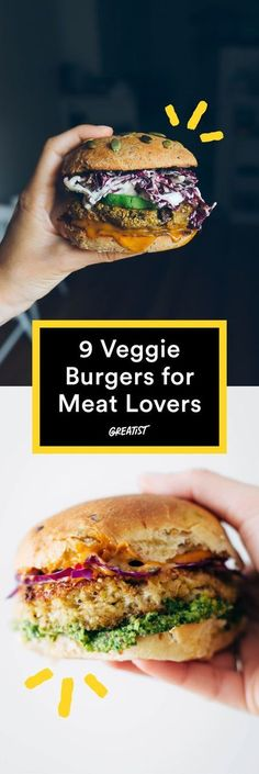 You won't even miss the beef. #healthy #veggieburger http://greatist.com/eat/veggie-burgers-even-meat-eaters-will-love
