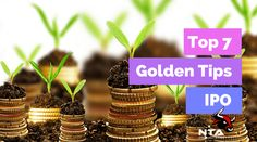 Top 7 Golden Tips for Investing in IPO - Nifty Trading Academy 🌪🌪🌪