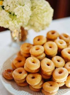 Tell me these are not Krispy Cream, and hot!