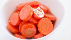 Blood Orange Glazed Carrots Side Dish Recipe